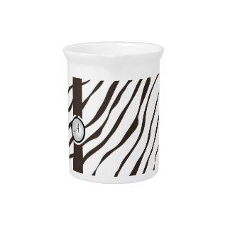 zebramuster mit borte krüge