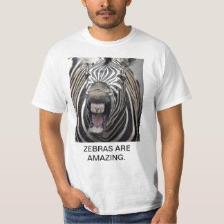 ZEBRAS ARE AMAZING. SHIRTS