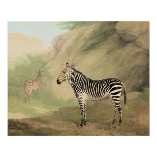 Zebras by Jacques-Laurent Agasse Posters