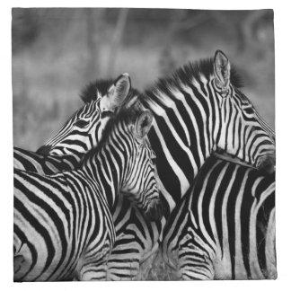 Zebras Cloth Napkin