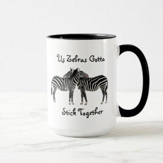 Zebras EDS Ehlers-Danlos syndrome Coffee Mug