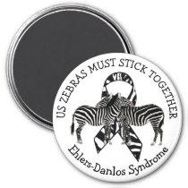 Zebras EDS Ehlers-Danlos syndrome Magnet