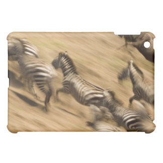 Zebras (Equus quagga) and wildebeest iPad Mini Covers
