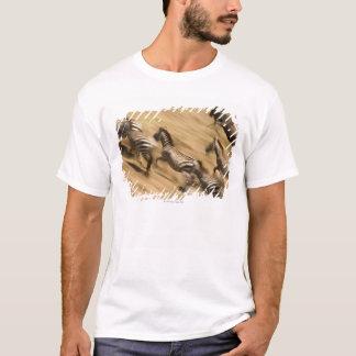 Zebras (Equus quagga) and wildebeest T-Shirt