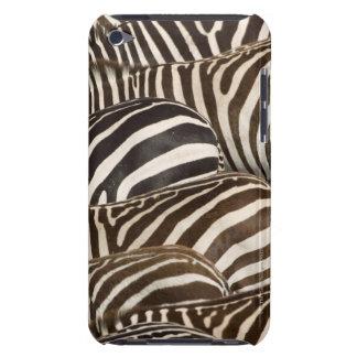 Zebras' (Equus quagga) stripes, Masai Mara, iPod Touch Cover