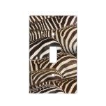 Zebras' (Equus quagga) stripes, Masai Mara Light Switch Plates