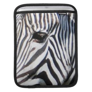 Zebra's Eye African Horse Wildlife iPad Sleeve