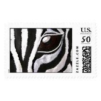 Zebra's Eye (Kimberly Turnbull Art) Postage