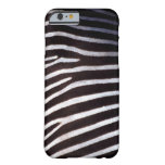 zebra's hide barely there iPhone 6 case