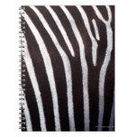 zebra's hide spiral notebook