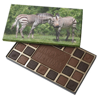 Zebras in Love Chocolates