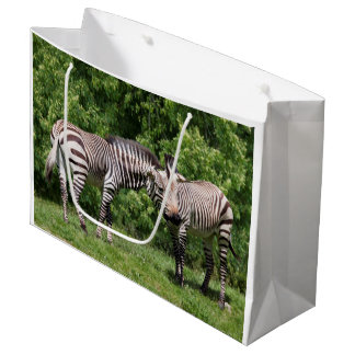 Zebras in Love Gift Bag