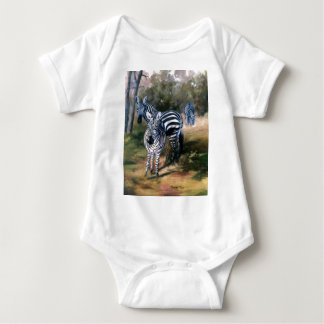 Zebras Infant Baby Bodysuit