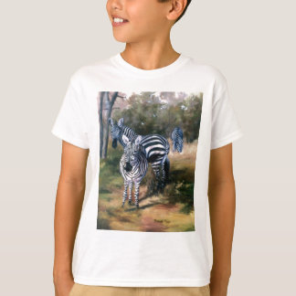 Zebras Kids Tshirt