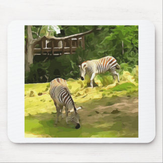 Zebras Mouse Pad