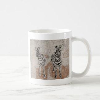 Zebras Classic White Coffee Mug