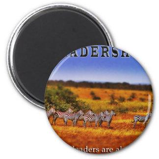 Zebras on Leadership (2) Fridge Magnets