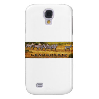 Zebras on Leadershp Samsung Galaxy S4 Cover