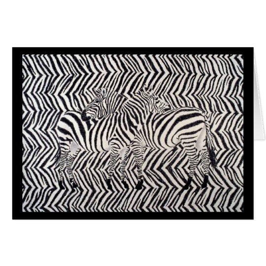 Zebras: Read Between The Lines Card