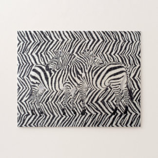 Zebras: Read Between The Lines Jigsaw Puzzle