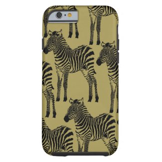 Zebras Tough iPhone 6 Case