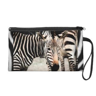 Zebras Wristlet Purse