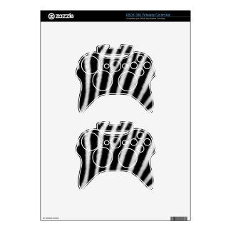Zebras Xbox 360 Controller Decal