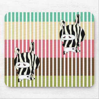 zebraskin mouse pad