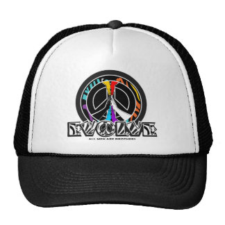 Zebrolor Peace Evolve AMAB Trucker Hat