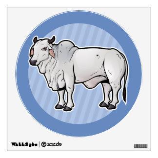 Zebu Wall Sticker