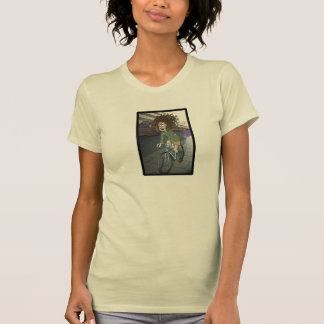 Zed and Her Bicycle Tee Shirt