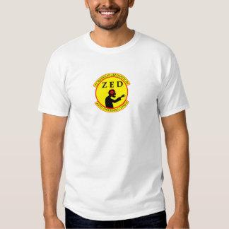 ZED Corps Mens White Singlet T-shirts