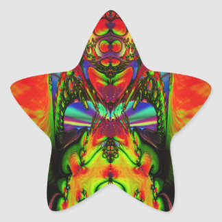 Zed Star Sticker