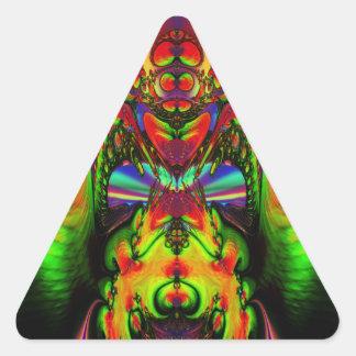 Zed Triangle Sticker
