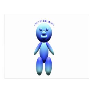 ZEE BLUE POSTCARD