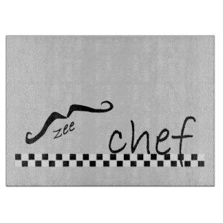 Zee French Chef Cutting Board