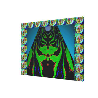 ZeeChung - Ghost angry with Envy Canvas Print