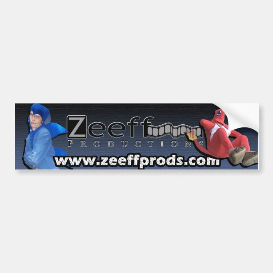 Zeeff Prods Classic Bumper Sticker