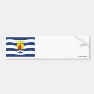Zeeland Flag Bumper Sticker