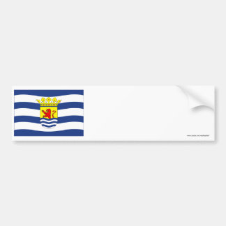Zeeland Flag Bumper Stickers