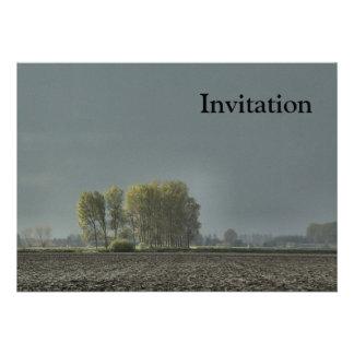 Zeeland-Late Sun Personalized Invites