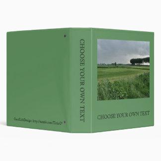 Zeeland-Summer green 3 Ring Binder