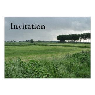 Zeeland-Summer green Custom Invites