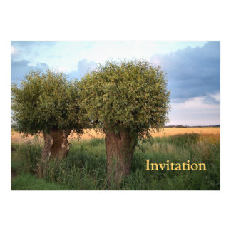 Zeeland-Two Willow Trees Personalized Invite