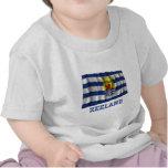 Zeeland Waving Flag with Name Tee Shirts