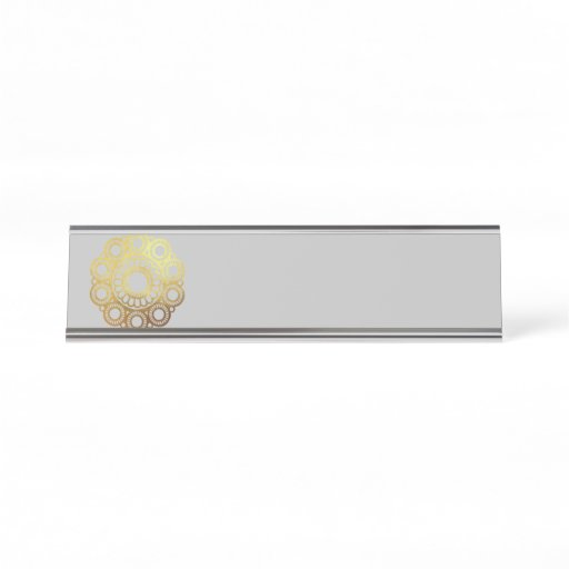 Zeeuwse Knop Gold - Name Plate