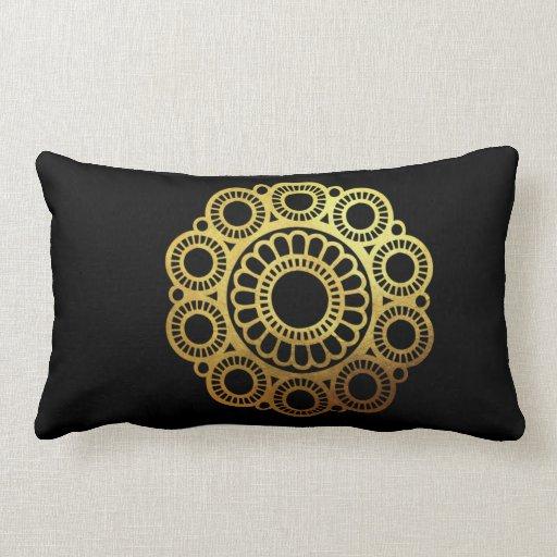 Zeeuwse Knop Gold - Pillowcase Lumbar Pillow