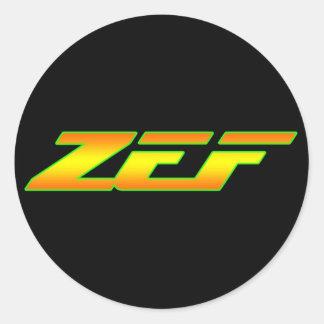 ZEF DECAL STICKER