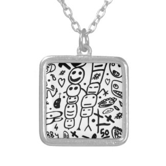 Zef Prawn Silver Plated Necklace