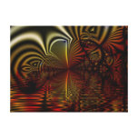 Zegbra-Reflections.jpg Gallery Wrapped Canvas